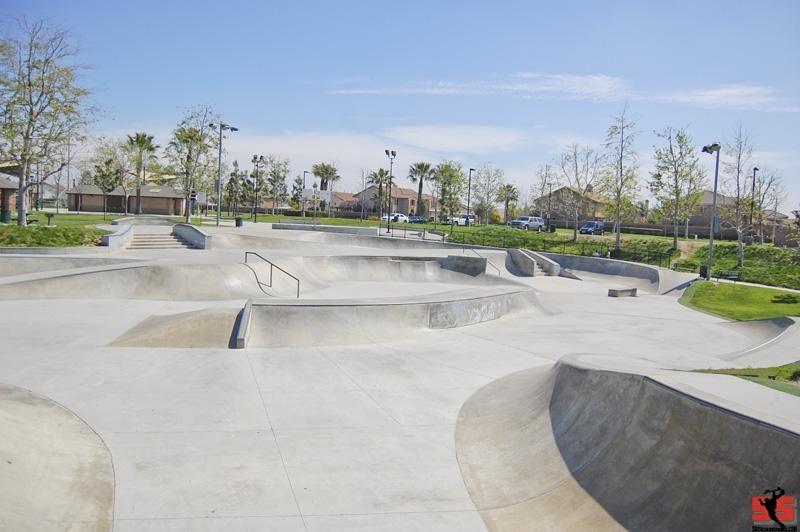 james huber skatepark, corona (eastvale), california