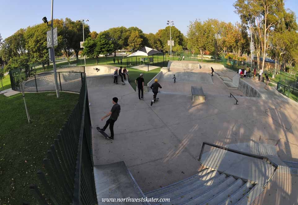 volcom skatepark, costa mesa, california