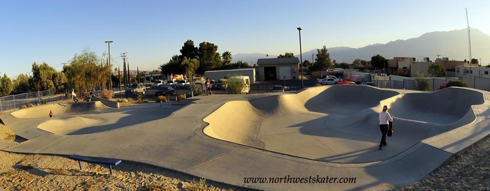 desert hot springs skatepark, desert hot springs, california