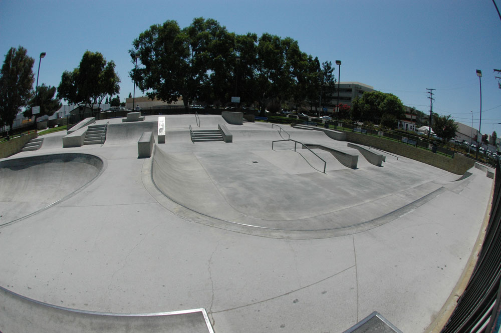 independence park, downey, california