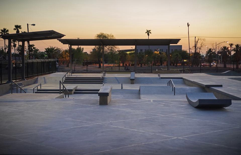 sidewinder skatepark, el centro, california