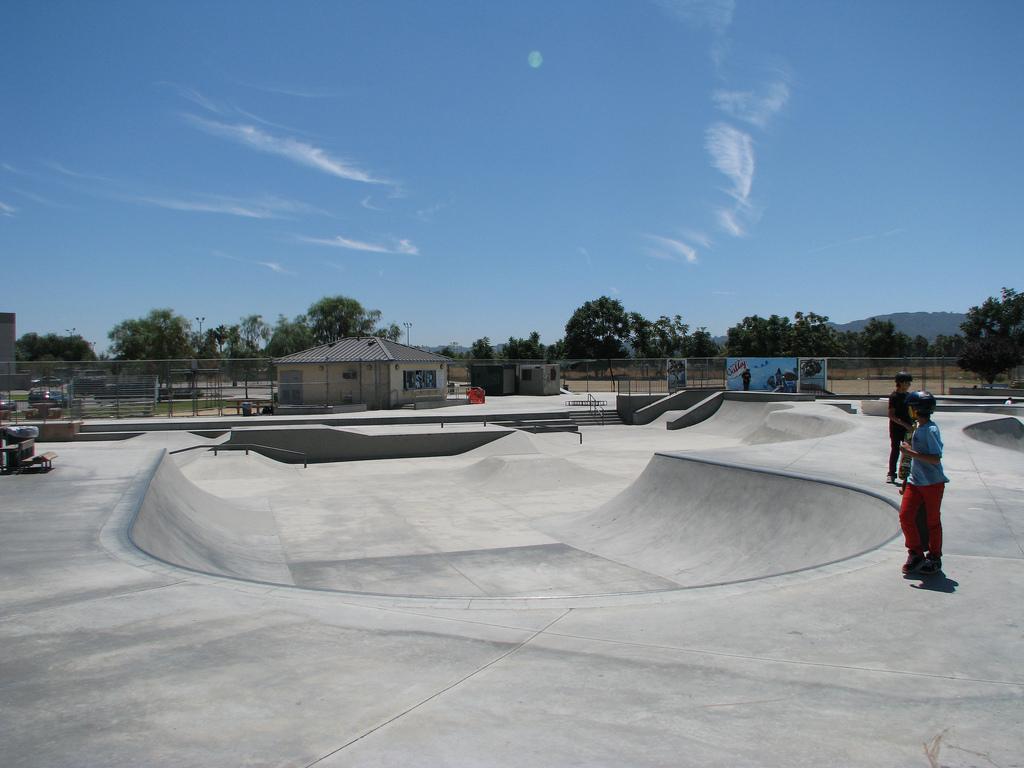 pedlow skatepark, encino, california