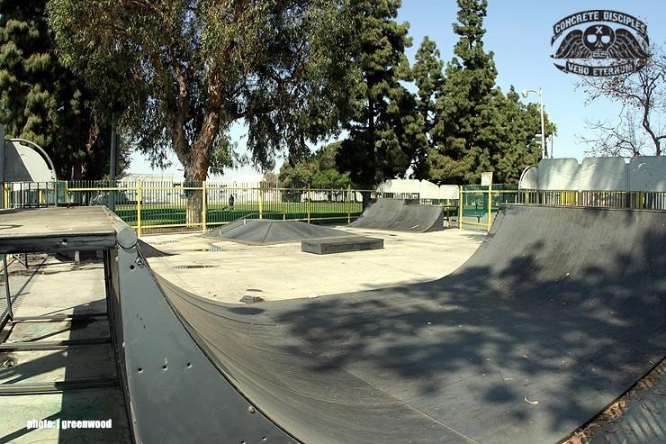 mathy bethune skatepark, florence, california