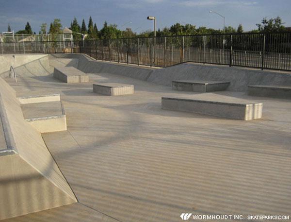 todd beamer skatepark, fresno, california