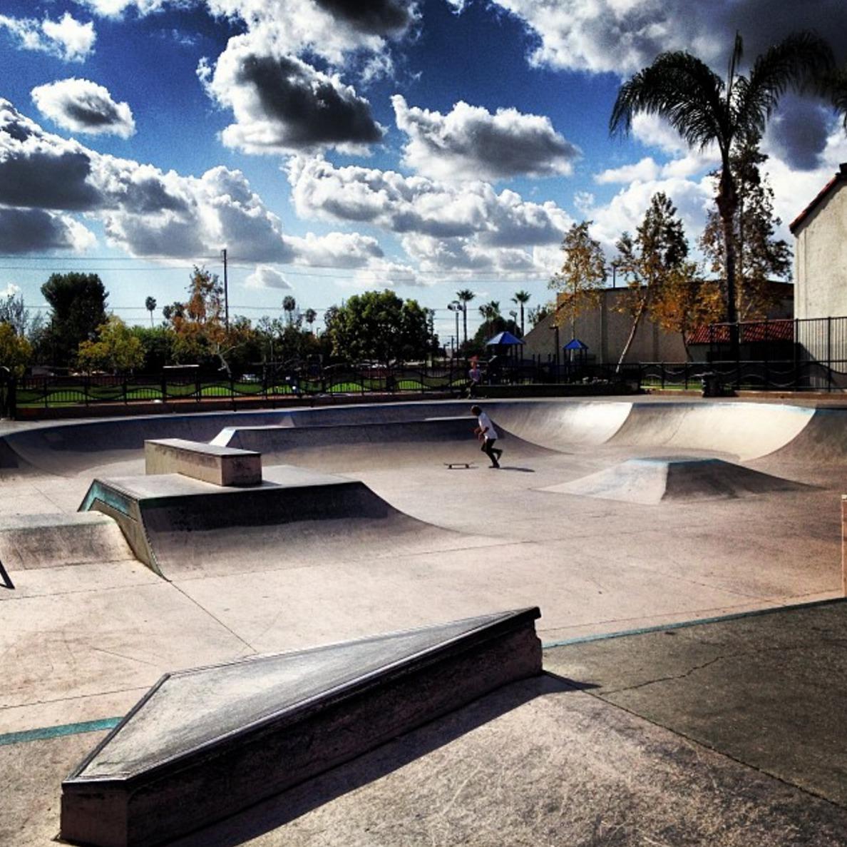 independence park, fullerton, california