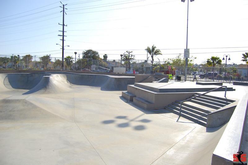 larry guidi skatepark, hawthorne, california