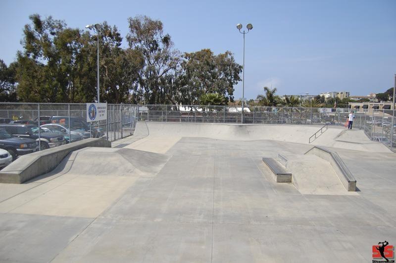 hermosa beach skatepark, hermosa beach, california