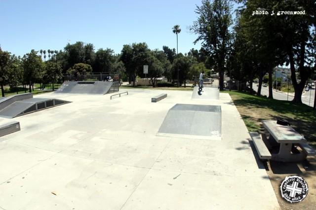 vincent park skatepark, inglewood, california