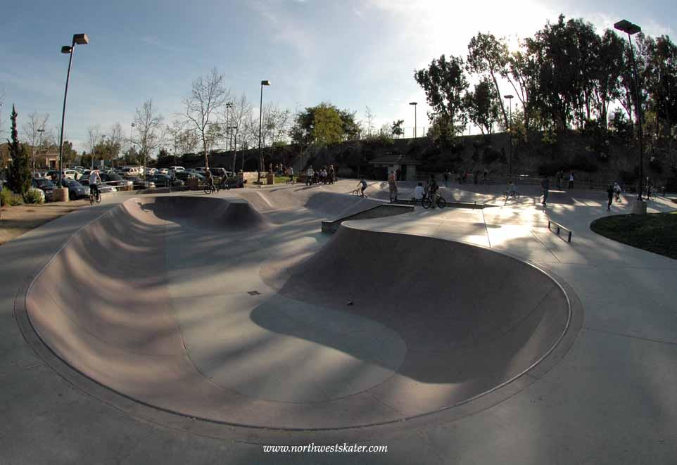 laguna hills skatepark, laguna hills, california
