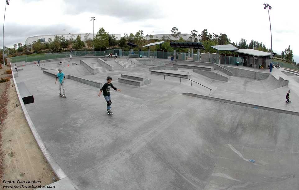 etnies skatepark, lake forest, california