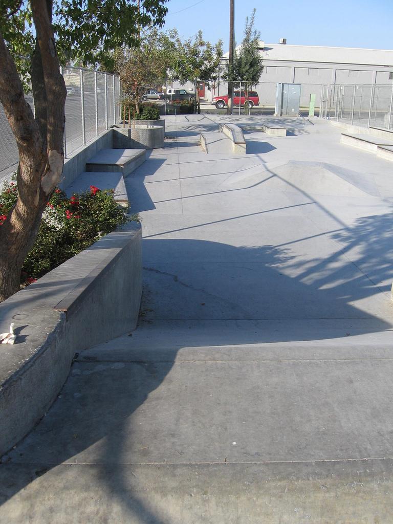 lemoore skatepark, lemoore, california