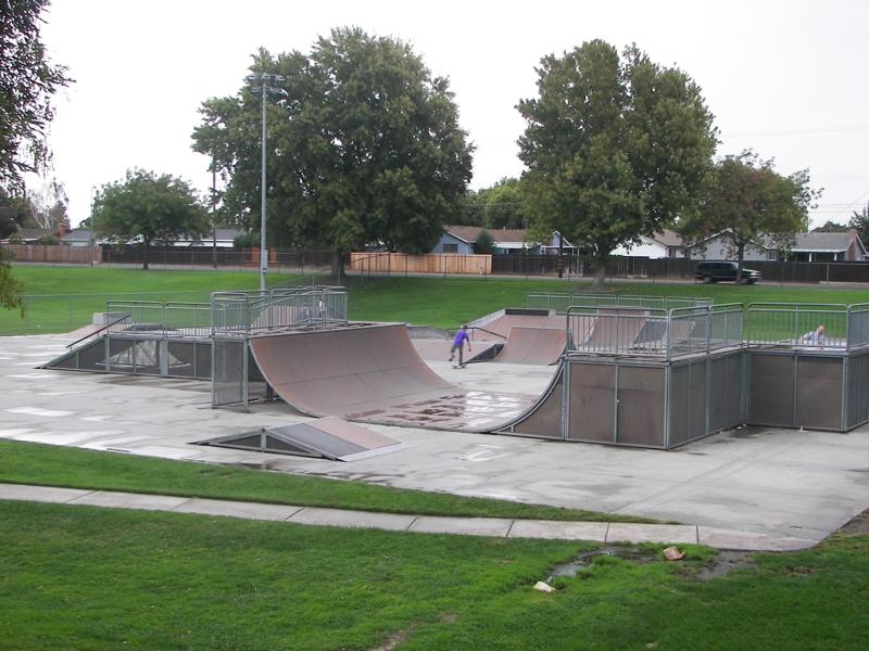 kofu park skatepark, lodi, california