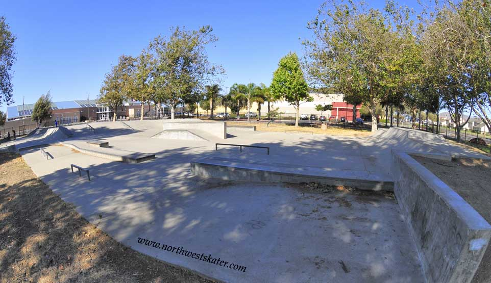 lompoc skatepark, lompoc, california
