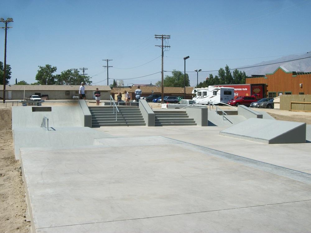 lone pine skatepark, lone pine, california
