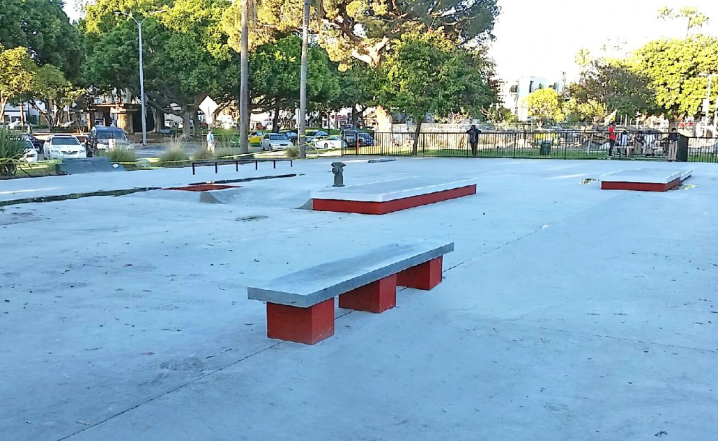 cherry park/bixby park, long beach, california