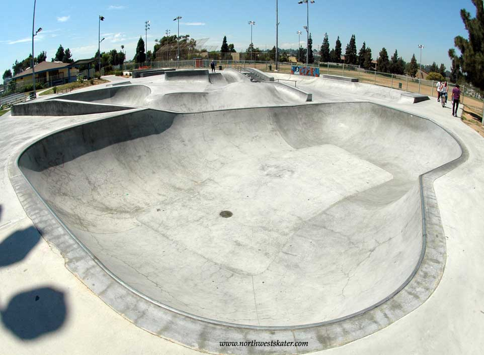 belvedere skatepark, los angeles, california