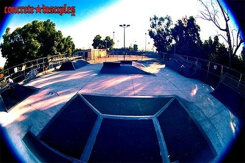 el sereno skatepark, los angeles, california