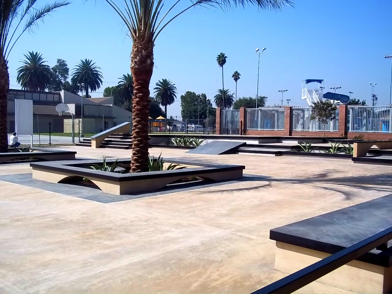 jackie tatum skate plaza, los angeles, california