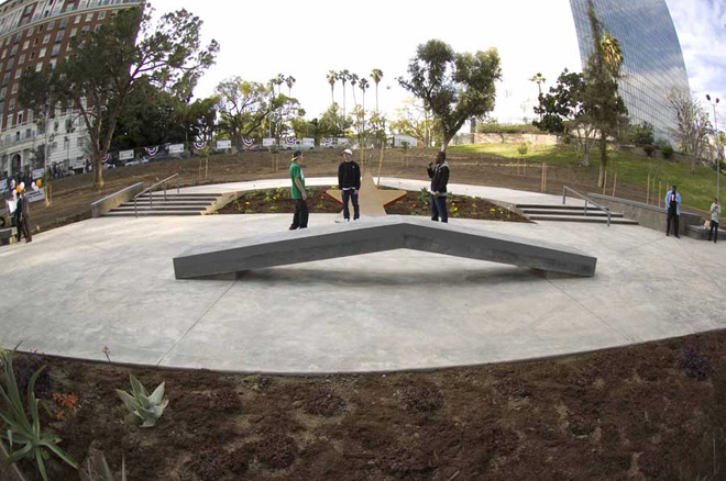 lafayette skate plaza, los angeles, california