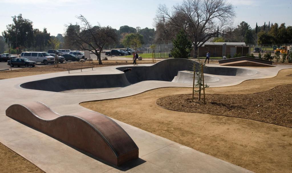 hansen dam skatepark, los angeles (lake view terrace), california