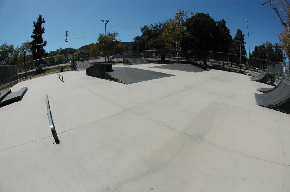 sunland skatepark, los angeles (sunland tujunga), california