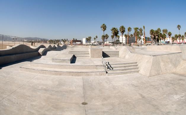 venice skatepark, los angeles (venice), california