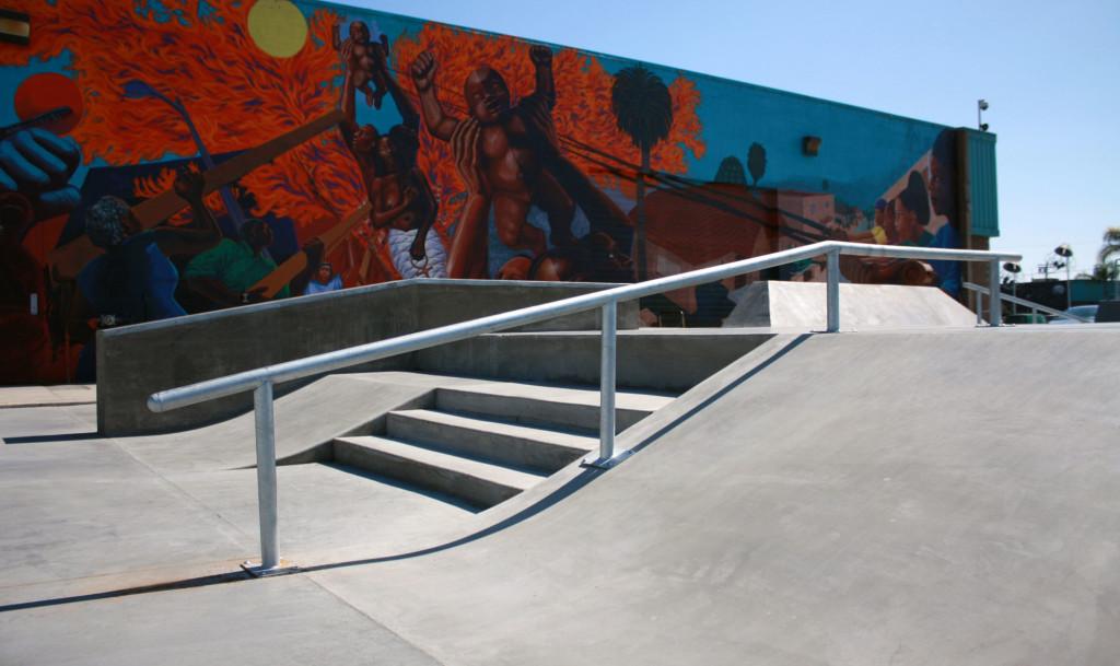 wlcac skatepark, los angeles (watts), california
