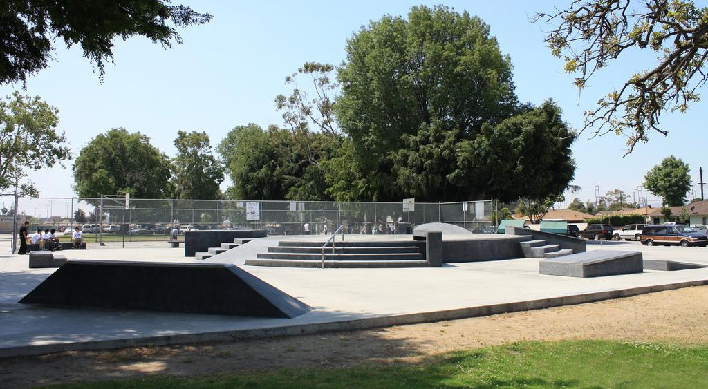 ambassador skatepark, los angeles (wilmington), california