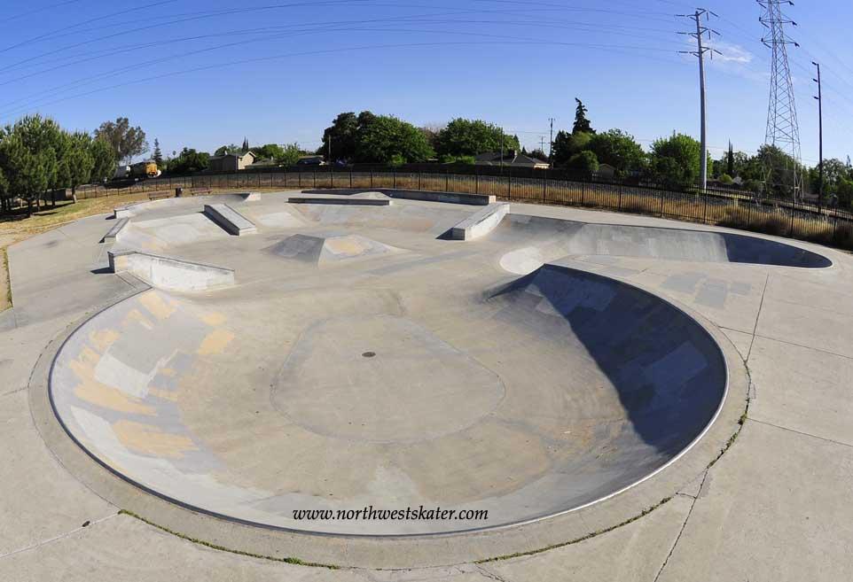 manteca skatepark, manteca, california