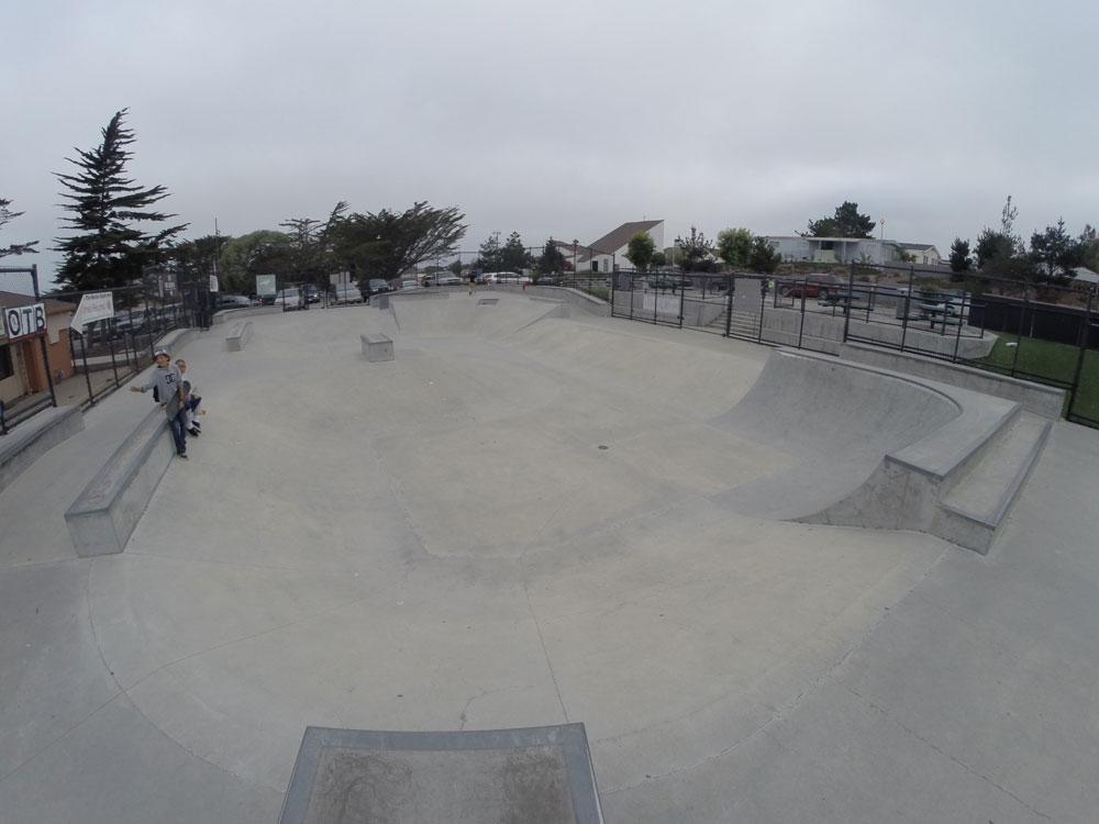 marina skatepark, marina, california