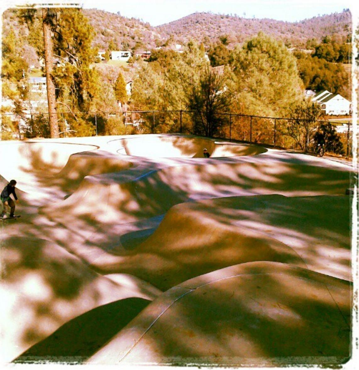 mariposa skatepark, mariposa, california