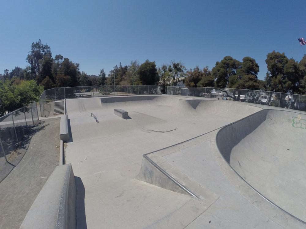 martinez skatepark, martinez, california