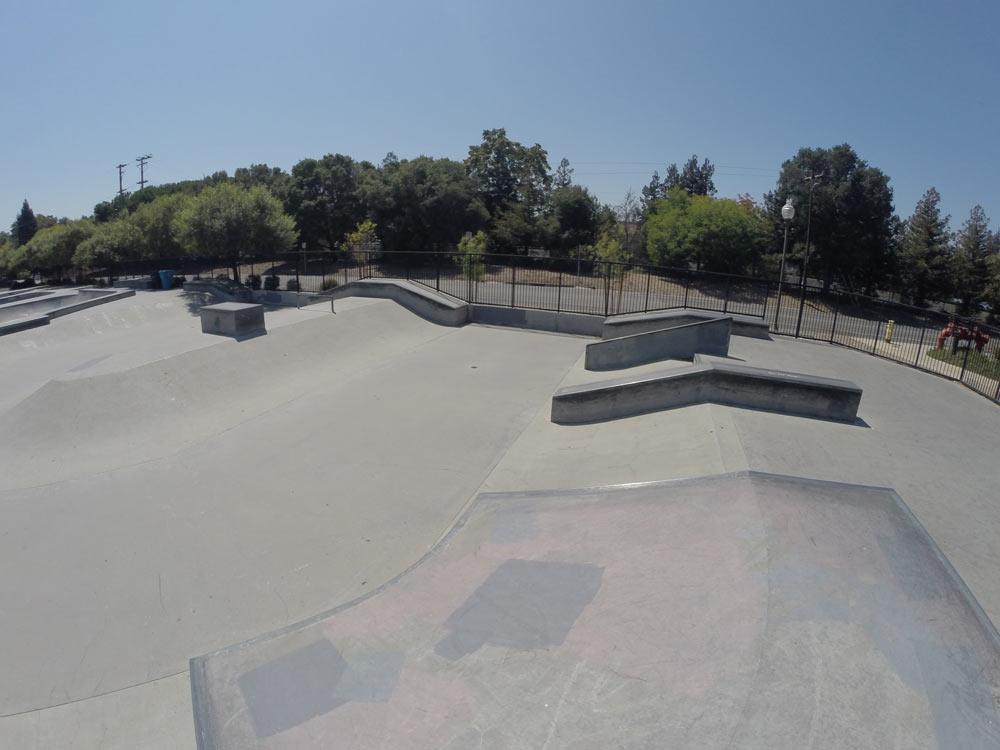 burgess skate park, menlo park, california