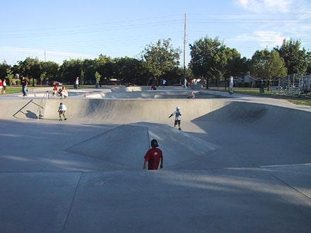 modesto skatepark, modesto, california