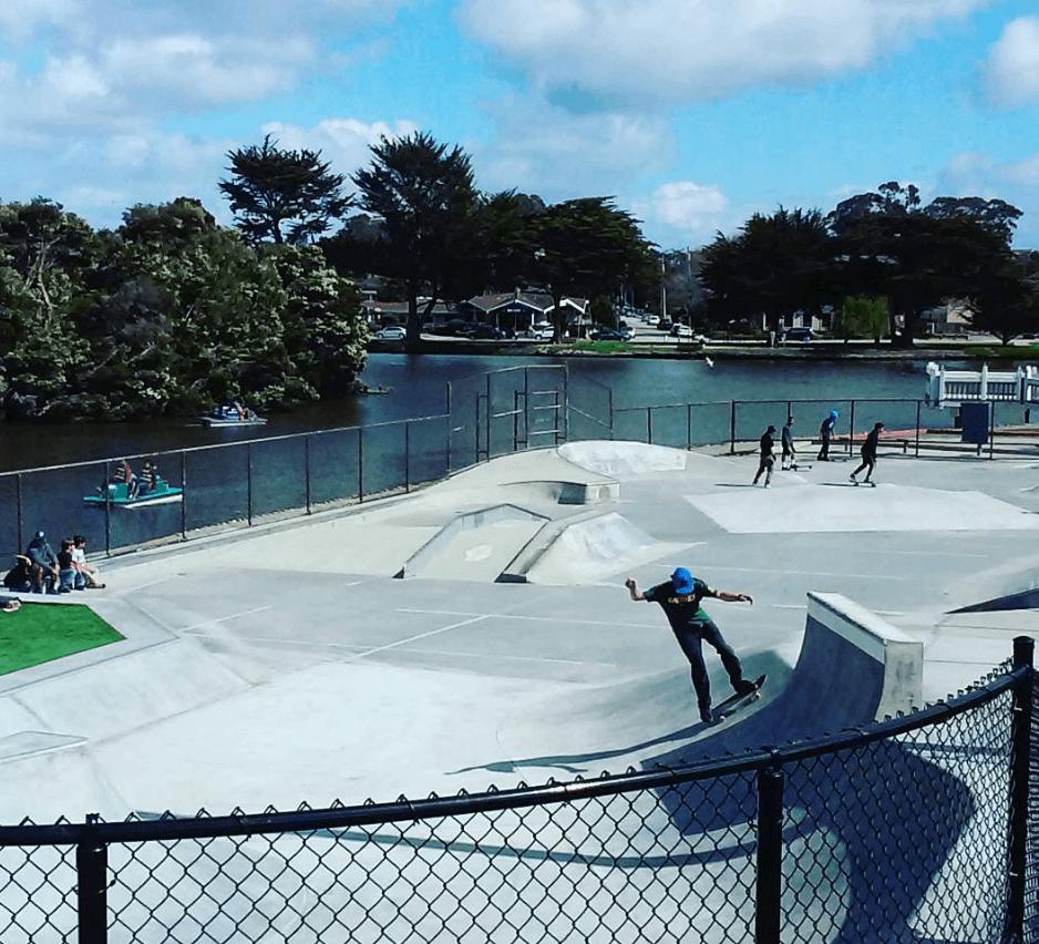 el estero skatepark, monterey, california