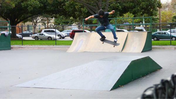 rengstorff skateoark, mountain view, california