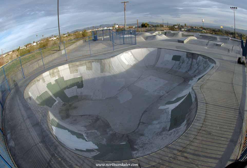 needles skatepark, needles, california