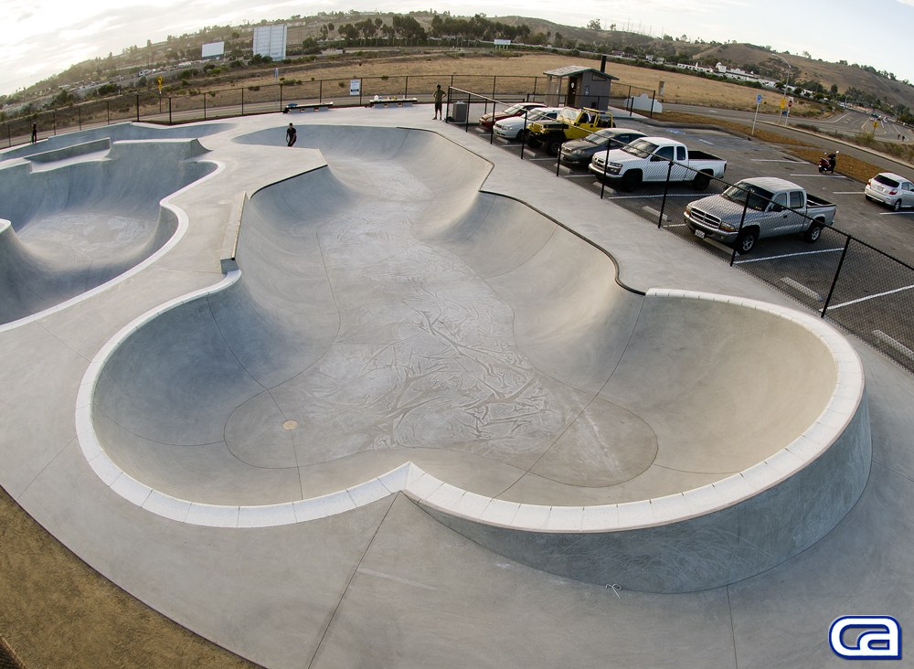alex road skatepark/prince park, oceanside, california