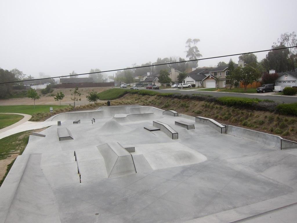 melba bishop skatepark, oceanside, california