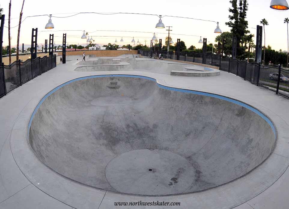 sunrise plaza skatepark, palm springs, california