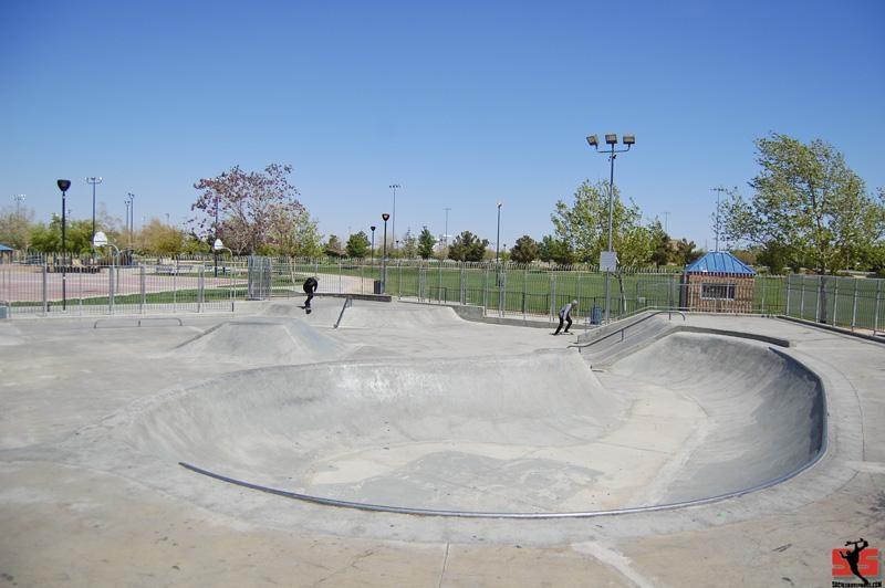 palmdale skatepark west, palmdale, california