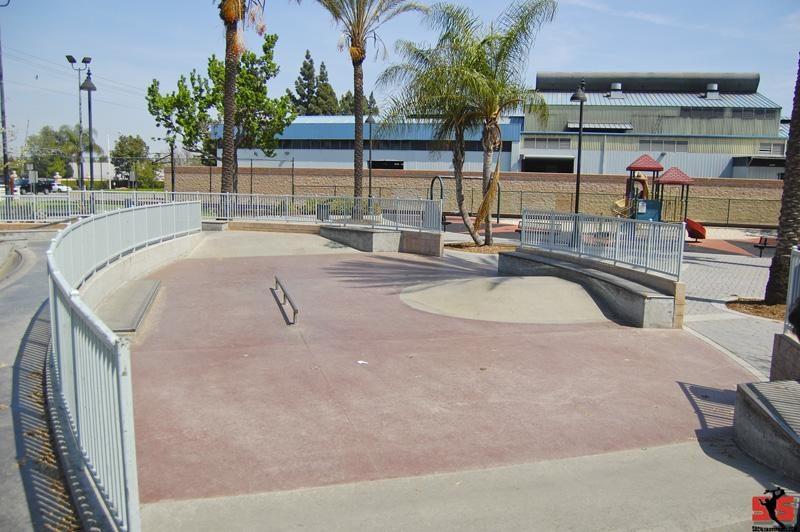 village skatepark, paramount, california