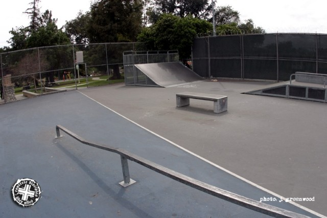 pasadena skatepark, pasadena, california