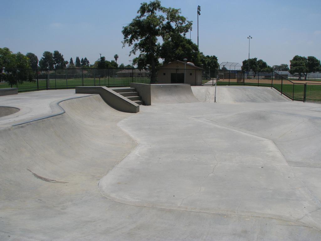 pico rivera skatepark, pico rivera, california