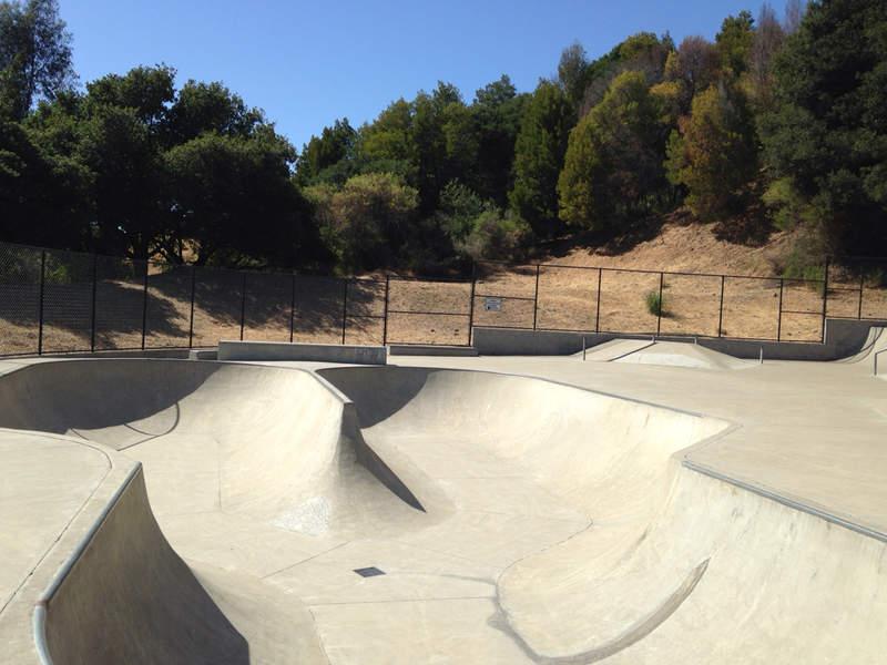 piedmont skatepark, oakland, california