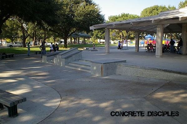 martin luther king skatepark, pomona, california