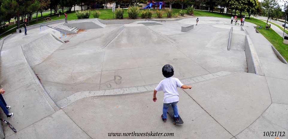 rancho cucamonga skatepark, rancho cucamonga, california