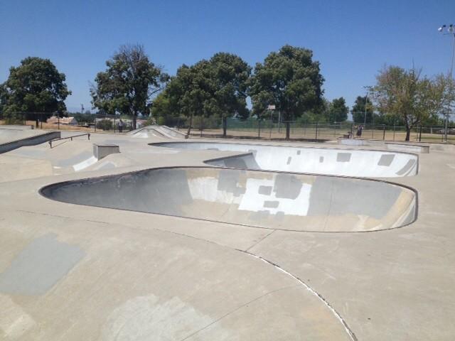 red bluff skatepark, red bluff, california