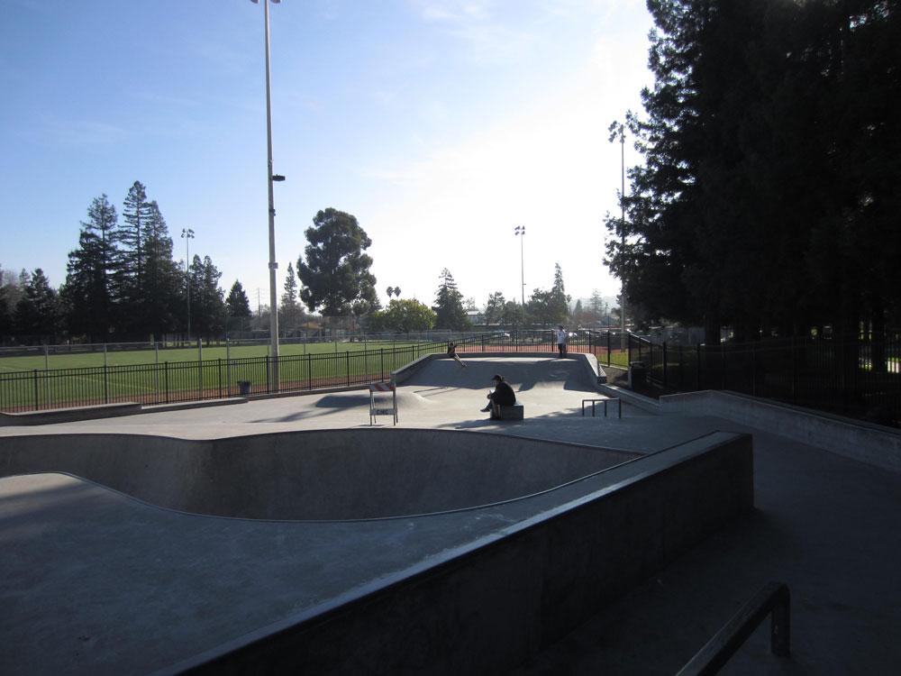 phil shao memorial skatepark, redwood city, california