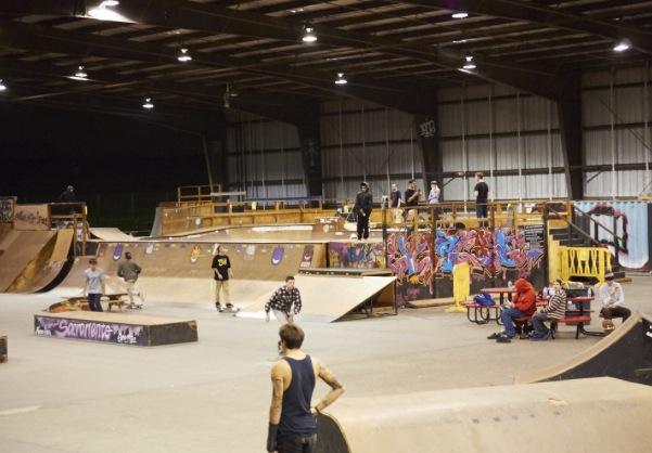 28th & b skatepark, sacramento, california